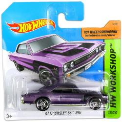Mattel Hot Wheels - Workshop - 67 Chevelle SS 396, lila