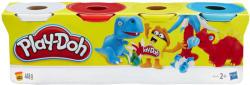 Hasbro Play-Doh 4 db-os gyurmakészlet - vegyes színek