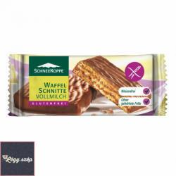 SCHNEEKOPPE Gluténmentes Tejcsokoládés Ostyaszelet (42g)