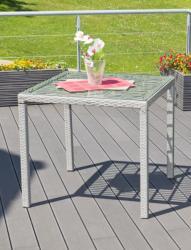 G21 Royal Small rattan asztal