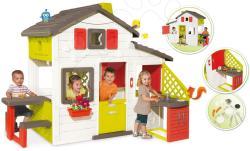 Smoby Friends (Jóbarátok) játszóház konyhával (810200)