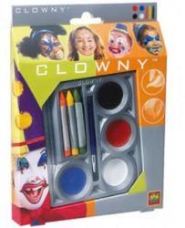 SES Costume de carnaval - SES - Set Vopsele pentru Fata 4+3 Culori (ses_9641) Costum bal mascat