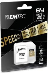 EMTEC microSDHC 64GB Class 10 ECMSDM64GXC10SP