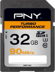 PNY SDHC Turbo Performance 32GB Class 10 SD32GTURPER90-EF