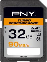 PNY SDHC Turbo Performance 32GB Class 10 SD32GTURPER90-EF