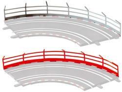 Carrera GO!!! Digital 143: Védőkorlát pályaelem