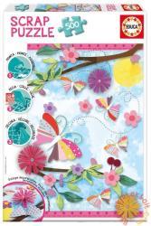 Educa Scrap puzzle - Díszítsd ki egyedül! - Garden Art 500 db-os (16738)