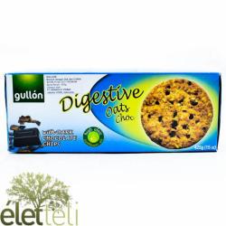 gullón Étcsokoládés Digestiv Zabpelyhes Korpás Keksz (425g)