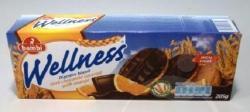 bambi Wellness Teljes Kiőrlésű Keksz Csoki Öntet és Narancs (205g)