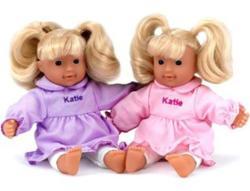 Peterkin Katie fésülhető babzsákos baba - többféle - 20 cm