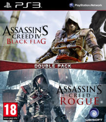 Ubisoft Double Pack: Assassin's Creed IV Black Flag + Assassin's Creed Rogue (PS3)