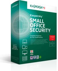 Kaspersky Small Office Security 4 for PC, Mobiles and File Servers KL4531OCKTS
