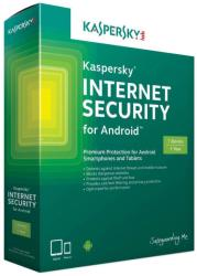 Kaspersky Internet Security for Android EEMEA Edition (3 Mobile Device, 1 Year) KL1091OCCFS