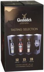 Glenfiddich Tasting Selection Whiskey Set 3x0,2L 40%
