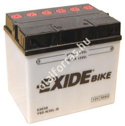 Exide Bike 30Ah jobb E60-N30L-B