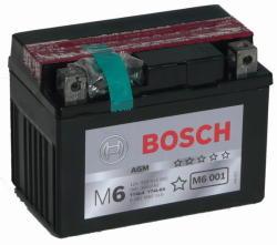 Bosch M6 AGM 3Ah 30A Jobb YTX4L-BS