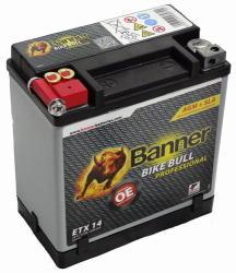 Banner Bike Bull Professional AGM 12V 12Ah 220A Bal ETX 14 (51401)