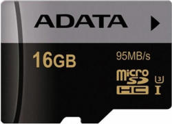ADATA Premier Pro microSDHC 16GB Class 10 UHS-I AUSDH16GUI3CL10-RA1