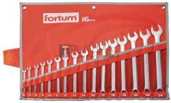 Fortum Csillag-villáskulcs készlet 16db 6-24mm (4730201)