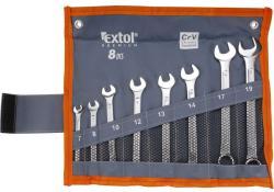 Extol Premium csillag-villáskulcs készlet 8db 7-19mm (6319)