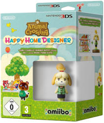 Nintendo Animal Crossing Happy Home Designer [Isabelle Amiibo Bundle] (3DS)