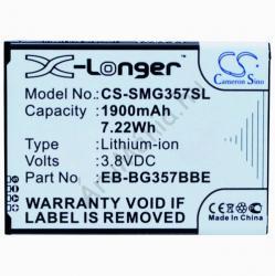 Utángyártott Samsung Li-Ion 1900 mAh EB-BG357BBEG