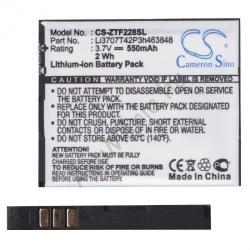 Utángyártott Vodafone Li-Ion 550 mAh Li3707T42P3h463848