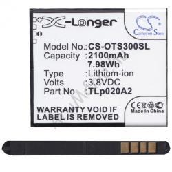 Utángyártott Alcatel Li-Ion 2100 mAh CAC2000003C3