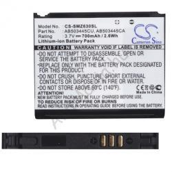 Utángyártott Samsung Li-Ion 750 mAh AB503445CE