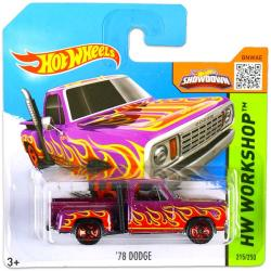 Mattel Hot Wheels - Workshop - 78 Dodge