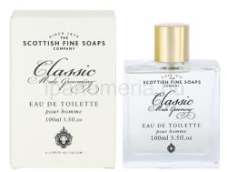 Scottish Fine Soaps Classic Male Grooming EDT 100ml