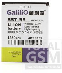 Utángyártott Sony Ericsson Li-Ion 1250mAh BST-33