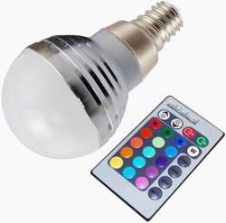 Life Light Led E14 3W 20-200lm LL3WKE14RGB
