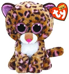 TY Inc Beanie Boos - Patches, a leopárd 24cm