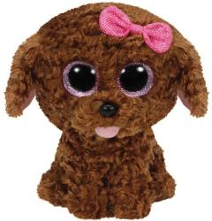 TY Inc Beanie Boos - Maddie, a barna kutyus 15cm
