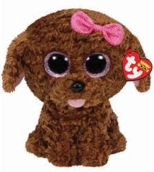 TY Inc Beanie Boos - Maddie, a barna kutyus 24cm (TY37040)