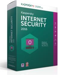 Kaspersky Internet Security 2016 Multi-Device EEMEA Edition (2 User, 1 Year) KL1941OCBFS