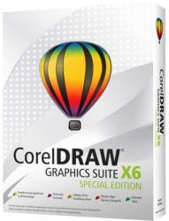 Corel CorelDRAW Graphics Suite X6 Special Edition ENG CDGSX6SPCZPLEU