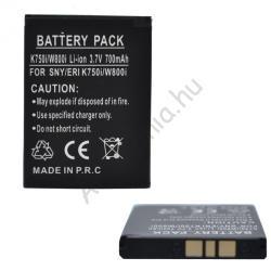 Utángyártott Sony Ericsson Li-Ion 650 mAh BST-37