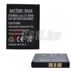 Utángyártott Sony Ericsson Li-Ion 700 mAh BST-37