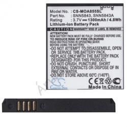 Utángyártott Motorola LI-Ion 1300 mAh BP6X