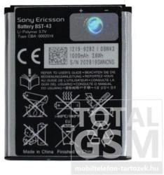 Utángyártott Sony Ericsson Li-Ion 1000 mAh BST-43