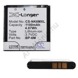 Utángyártott Nokia LI-Ion 1200 mAh BP-6M