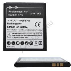 Utángyártott Sony LI-Ion 1900 mAh BA900