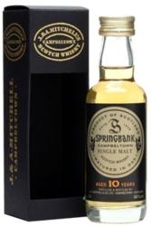 Springbank 10 Years Whiskey 0,05L 46%