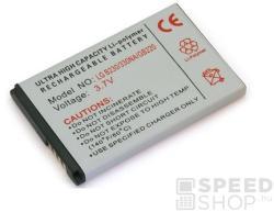Utángyártott LG Li-Ion 650mAh LGIP-330NA