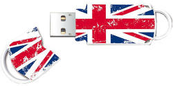 Integral Xpression Union Jack 64GB USB 2.0 INFD64GBXPRUNIONJ