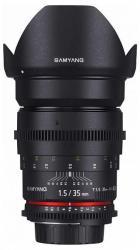 Samyang 35mm T1.5 VDSLR AS UMC II (Sony E)