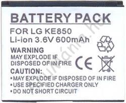 Utángyártott LG Li-Ion 600 mAh LGIP-A750