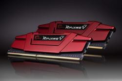 G.SKILL RipjawsV 8GB (2x4GB) DDR4 2400Mhz F4-2400C15D-8GVR